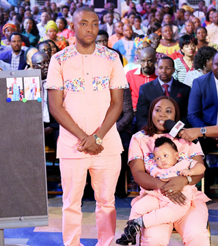 MR & MRS JAMES AMEH (BARRENNESS)BABY TESTIMONY