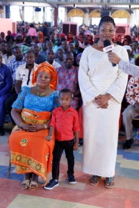 MS. OGBEBOR SYLVIA, MOTHER AND SON