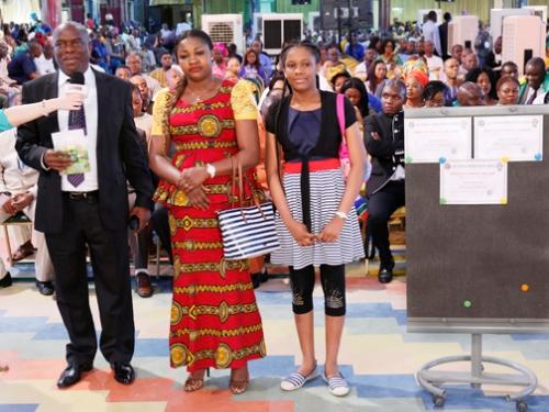 MISS GRACE UZOEGBU & PARENTS